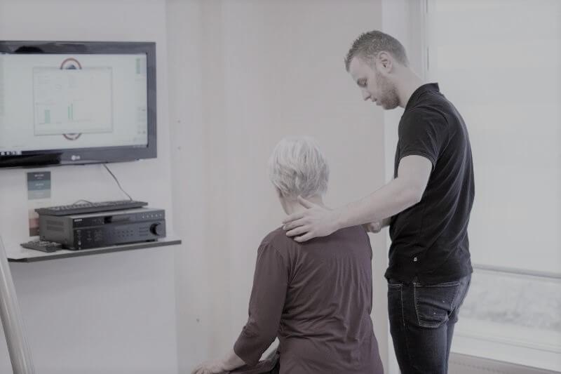 Veldpn Flexchair Behandeling bij Spectrum Fysiotherapie